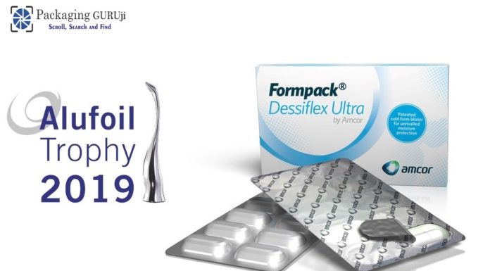 Amcor and GSK develop the blister with enhanced features and win Alufoil Trophy - PackagingGURUji
