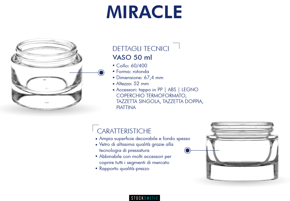 Miracle - New Pack in the cosmetic industry by Stocksmetic company PackagingGURUji