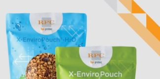 X-EnviroPouch single layer - 100% recylable with O2 and moisture barrier