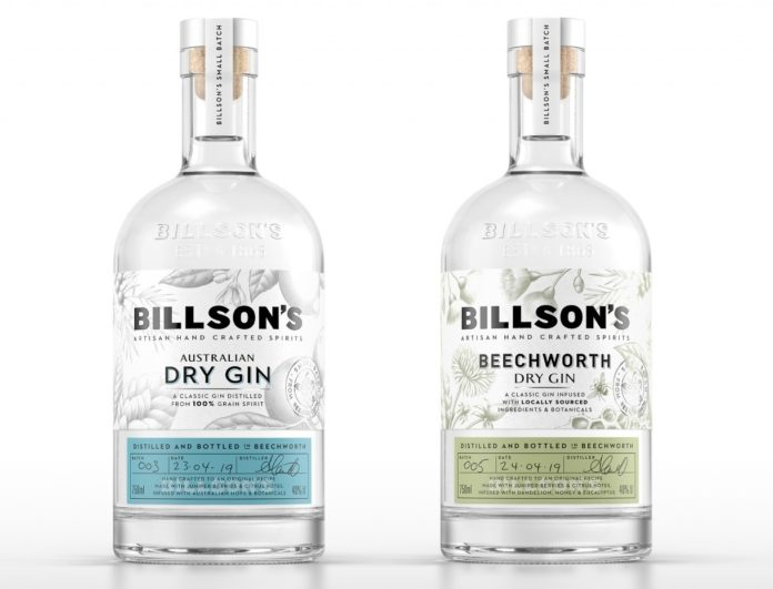 BILLSON Australian, packaging