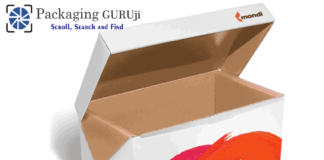 chewing gum packaging solution, packaging solution, chewing gum, EcoSolutions, one-piece corrugated box