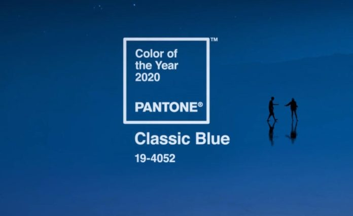 PANTONE 19-4052, Color 2020, Color of the Year for 2020, Classic Blue, PANTONE 19-4052 Classic Blue