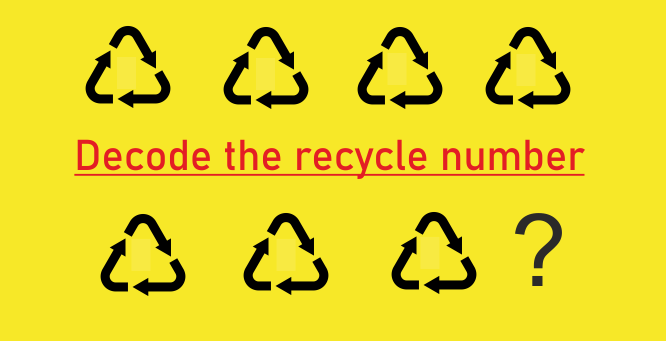 recycle 7, recycle number 7, recycle 7 symbol, recycle code 7, plastic number 7