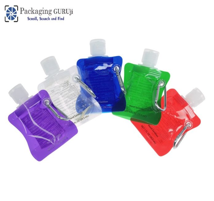 reliable option for Hand sanitizer, Hand sanitizer in small packaging, Hand sanitizer in small pouches, Single-use plastic for Hand sanitizer, sanitizer awareness