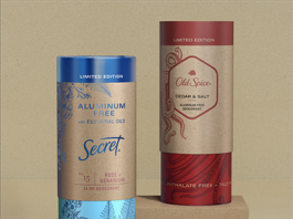 Plastic-Free Deodorant Packaging, Deodorant Packaging, Paper tube packaging, aluminum-free deodorants, Gen Z