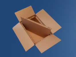 Thermo Box, Hexacomb corrugation for frozen food, Hexacomb, structure of Hexacomb, replaces EPS plastic