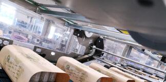 paper bundler, Paper Bunder Machine, Beverage CAN Paper Bundler, Innovated Paper Bundler, Alternative of shrink bundler