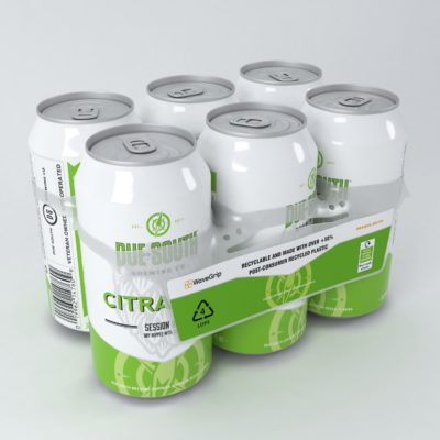 multi-packing solutions, MultiPack TIN CAN carrier, sustainable multi-packing solutions