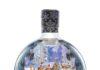 360 degree shrink sleeve Snow Globe Gin bottle