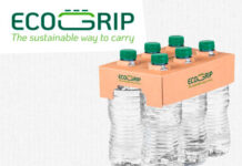 ecogrip, multi-packing of bottles, multipack water bottles