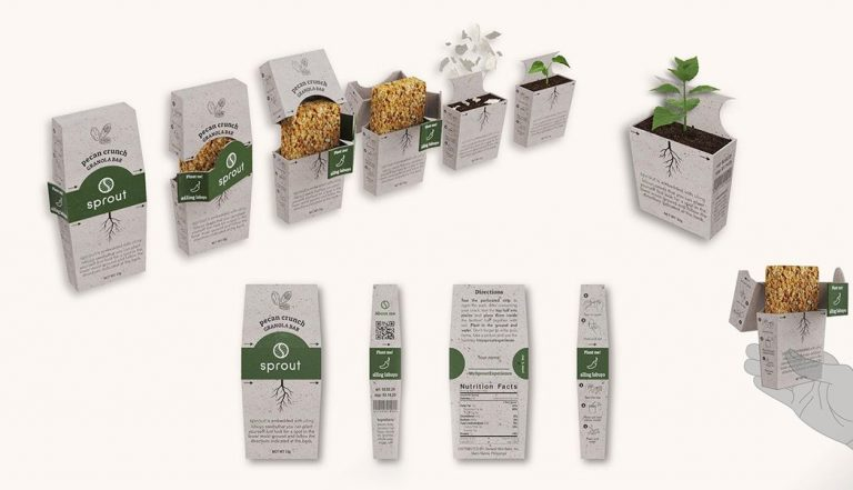 Pinyapel paper, Sprout Packaging