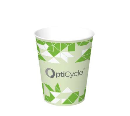 Innovative sustainable layer and alternative to PE layer inside the cups